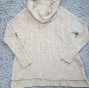[Mossimo] Tunic Length Cowl Neck Sweater